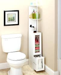 Toilet Paper Storage Cabinet Bathroom Toilet Paper Cabinet Space Saving Scrolled Storage