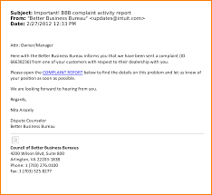 Business Emails by Business Email Example Automotive