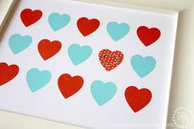 valentine u0027s day washi tape heart art lifestyle crafts the