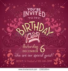happy birthday you hand drawn typography stock vector 379499470