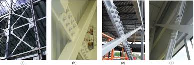 inelastic buckling analysis of steel x bracing with bolted single