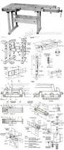 woodwork 4 x 8 workbench plans pdf plans workshop pinterest