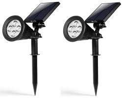Solar Powered Outdoor Lights by Amazon Solar Powered Outdoor Led Lights Only 14 99 Each Best