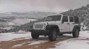 2017 Jeep Wrangler Rubicon Unlimited In Bright White Youtube