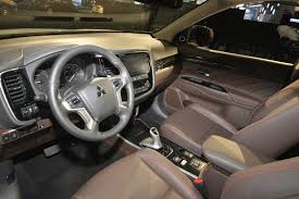mitsubishi asx 2014 interior mitsubishi outlander plug in hybrid us debut delayed until 2015