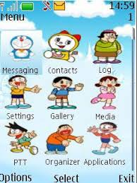 nokia 206 cute themes free java doraemon software download