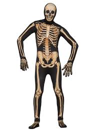 skeleton costumes mens disappearing deluxe skeleton costume wholesale