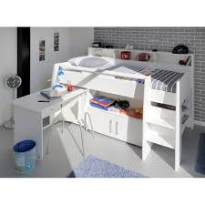 Kids Beds With Desk by Kids Swan Mid Sleeper With Desk And Storage Kids Beds Cuckooland