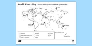 biomes map biomes map colouring activity sheet biomes colour map