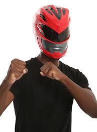 power ranger costume spirit halloween power rangers red ranger helmet costume accessory topic