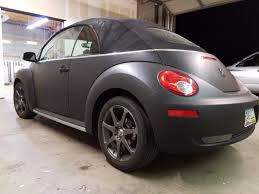 check out this volkswagen bug color change wrap