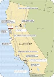 California Missions Map California Emerges City Journal