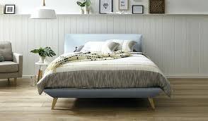 Blue Bed Frame King Bed Frame With Storage Mymatchatea Co
