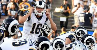 Raiders American Flag Reaction L A Rams Hold Off The Raiders With 4th Quarter