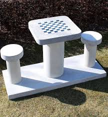 Chess Table Outdoor Chess Table Designs For Game Changers Trends4us Com