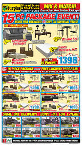 kitchener surplus furniture surplus furniture mattress warehouse kitchener flyer may 1 to 14