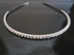 rhinestone bands women s 1 row rhinestone headband thin