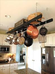 kitchen pot racks with lights pan ceiling rack kitchen pan rack exciting hanging a pot rack in