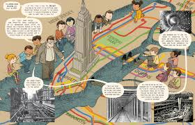 Nyc City Subway Map by Lost In Nyc A Subway Adventure Toon Graphics Toon Books