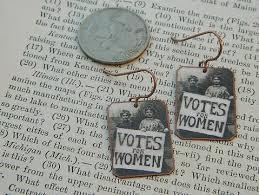 feminist earrings feminist earrings votes for women solidarity jewelry