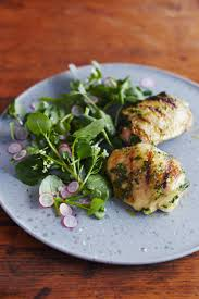 recipe grilled chicken thighs with chimichurri kitchn