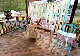 outdoor party ideas exterior design incredible party decorating views on wooden
