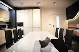Futuristic Home Interior Custom 60 Black And White Apartment Ideas Decorating Design Of