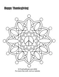 free thanksgiving coloring pages print mandala u0026 scarecrow