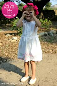 little girls peasant style dress