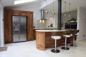 bespoke kitchen island feature island incorporating structural steel column kitchen