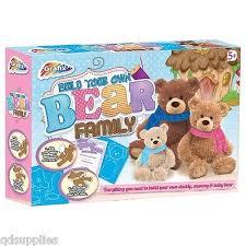 build your own teddy grafix build your own teddy family makes 3 teddies craft