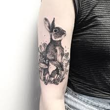 40 adorable rabbit tattoo design ideas bunny tattoo and tatting