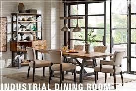 industrial dining room table industrial dining room american home furniture and mattress