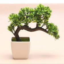 tree potted landscape artificial bonsai pot plants artificial