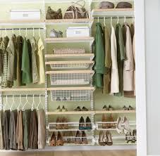 organize small closet lots clothes home design ideas