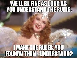Wizard Of Oz Meme Generator - good witch wizard of oz neoliberalism meme meme generator imgflip