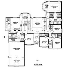 house plans with big bedrooms house plan 5445 00183 luxury plan 7 670 square 5 bedrooms