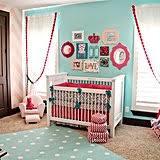 pink and aqua nursery from caden lane popsugar moms
