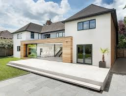 Custom Home Designers Modern Extension Reshaping A Custom Home Designers Uk Home