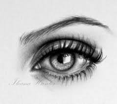 60 beautiful and realistic pencil drawings of eyes art
