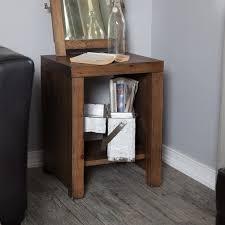 Storage End Tables For Living Room Belham Living Brinfield Rustic Solid Wood End Table Hayneedle