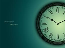 clock wallpaper for pc wallpapersafari