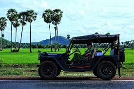 jeep teal jeep to koh ker temple vietnam cambodia adventure travel u0026 tours