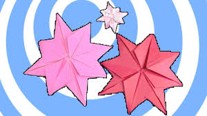 origami xmas christmas star instructions youtube