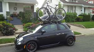 Thule 614 by Bike Rack For Abarth Archive Fiat 500 Usa Forum