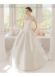 lace top wedding dress amazing lace top satin bottom gown wedding dress