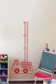 best 206 tvoreni s detmi images on pinterest other animals firetruck growth chart vinyl wall art free shipping fun custom wall decal diy
