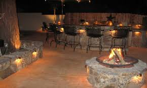 outdoor kitchen and patio outdoor kitchen lighting ideas outdoor