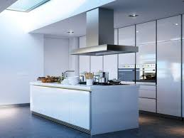 Glossy Kitchen Cabinets Kitchen White Gloss Laminate Kitchen Cabinet Including Stainless
