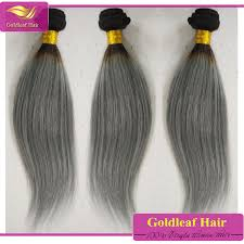 silver hair extensions new arrival grey silver hair extensions 1b silver ombre hair weave